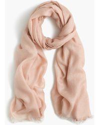 J.Crew | Refined Silk-cashmere Wrap | Lyst