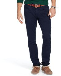 Polo Ralph Lauren Slim Straight 5 Pocket Chino - Lyst