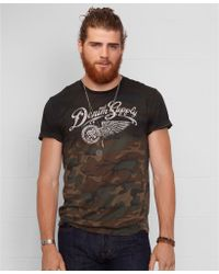 Denim & Supply Ralph Lauren Printed Camo Tee - Lyst