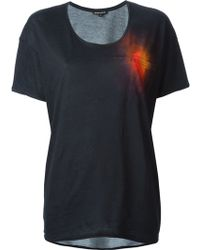 Ann Demeulemeester Spotlight T-shirt - Lyst