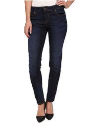 Kut From The Kloth Diana Skinny In Gleeful/Dark Stone Base Wash - Lyst
