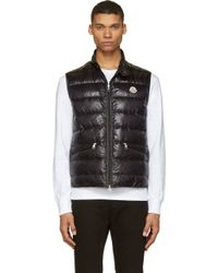 Moncler Quilted Down Gui Vest - Lyst