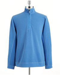 Tommy Bahama - Quarter Zip Pullover - Lyst