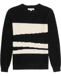 Reiss Sanctuary Brushed Cotton Jumper - Lyst