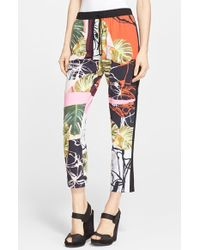 Clover Canyon 'Falling Leaves' Woven Pants - Lyst
