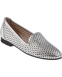 Jon Josef G-Perf Loafer Silver Leather - Lyst