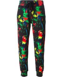 Love Moschino Tropical Print Track Pant - Lyst