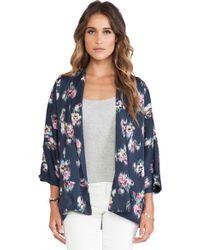 d.RA | Dewberry Kimono | Lyst