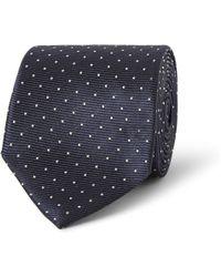 Lanvin Poka-dot Silk-faille Tie - Lyst