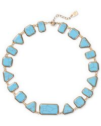 Ralph Lauren | Geometric Turquoise Necklace | Lyst