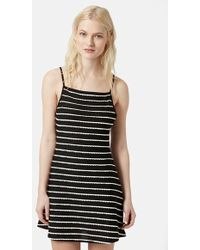 Topshop Strappy Jersey Dress - Lyst