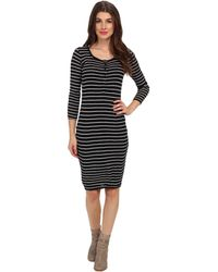 Splendid Henley Dress - Lyst
