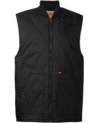Obey Quilted Jacket - Lyst