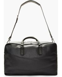 Marc By Marc Jacobs - Grey Leather Duffle Bag - Lyst