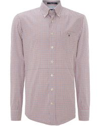 Gant Long Sleeve Shirt - Lyst