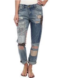 Blank - Denim Multicolor Patchwork Skinny In Patch Things Up - Lyst