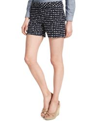 Tommy Hilfiger Printed Chino Shorts - Lyst