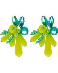 EK Thongprasert - Yellow Silicone Earrings - Lyst