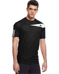 Adidas Response Climacool T-Shirt black - Lyst
