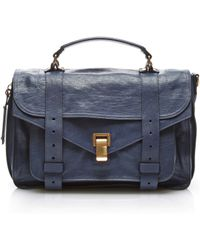 Proenza Schouler | Ps1 Medium Leather Satchel | Lyst