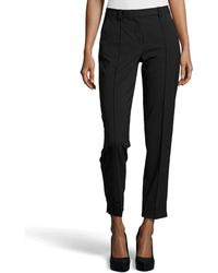 Halston Skinny Fit Tailored Suiting Pants - Lyst
