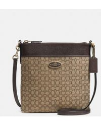 Coach Northsouth Swingpack in Signature Fabric - Lyst