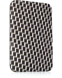 Pierre Hardy Cubeprint Coatedcanvas Ipad Sleeve - Lyst
