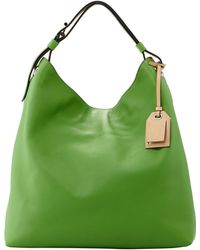 Reed Krakoff Rdk Leather Hobo Bag Green - Lyst