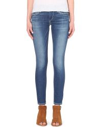 True Religion Casey Super-Skinny Low-Rise Jeans - For Women blue - Lyst