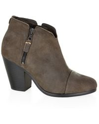 Rag & Bone - Margot Nubuck Boot - Lyst