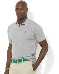 Polo Ralph Lauren Classic-Fit Short-Sleeve Cotton Mesh Polo - Lyst