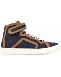 Pierre Hardy Suede Hightop Trainers - Lyst