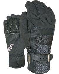 Level - Bliss Gem Dark Ski Gloves - Lyst