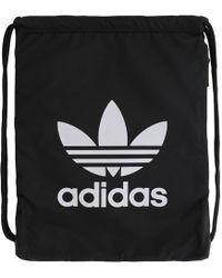 81c879ee7c adidas Originals Classic Trefoil Backpack in Black for Men - Lyst