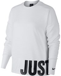 b488cf95 Nike Just Do It Crew Sweatshirt - Lyst