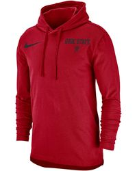21a34d75 Nike - Ohio State Buckeyes College Cotton L/s Modern Hoodie - Lyst