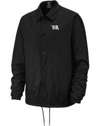 Nike Coaches Shield Jacket - Black