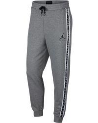 1bf905b3ced Nike Air Jordan Sportswear Aj 1 Fleece Pant in White for Men - Lyst