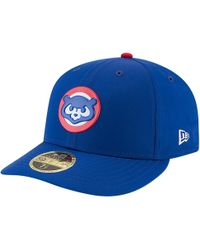 newest collection a75de c931e KTZ Chicago Cubs Mlb White And Black 59fifty Cap in White for Men - Lyst