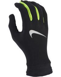 f4383cf8c3 Nike 'tailwind' Dri-fit Tech Running Gloves in Black for Men - Lyst