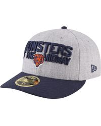 brand new 6ef88 d469e KTZ - Chicago Bears Nfl 59fifty On Stage Low Profile Cap - Lyst