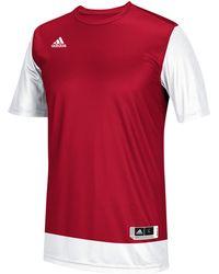 cheap for discount 01e1e c5239 adidas - Team Crazy Explosive Shooting Shirt - Lyst