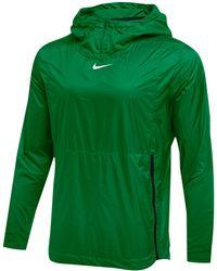 Nice Nike Men's Cincinnati Bengals Alpha Fly Rush Quarter zip Jacket in