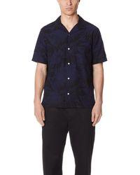 Vince - Palm Leaf Cabana Shirt - Lyst