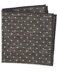 Thomas Mason - Dot Pocket Square - Lyst