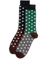 Paul Smith - Quad Polka Socks - Lyst