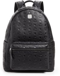 MCM - Ottomar Monogrammed Leather Medium Backpack - Lyst
