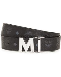 MCM - M Buckle Reversible Belt - Lyst