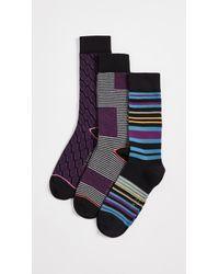 Ted Baker - 3 Pack Socks - Lyst