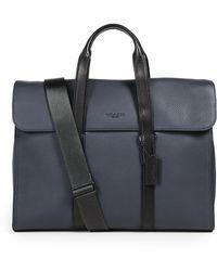 COACH - Harness Metropolitan Portfolio Briefcase - Lyst